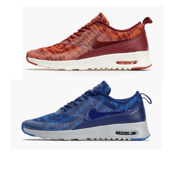 Nike Thea Blau Rot